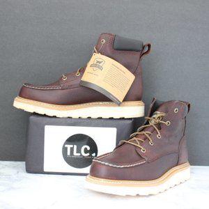 Irish Setter Soft Toe Work Boots, Size 8.5